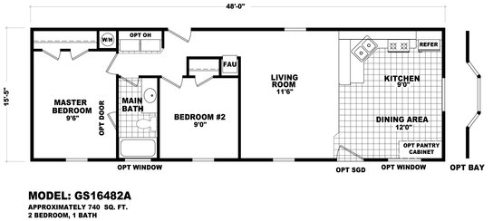 Floor Plans moreover 14x70 Mobile Home Floor Plan furthermore 4 Bedroom Mobile Home Floor Plans in addition Fp 130 GS 16482A besides 2 Bedroom Single Wide Trailer Floor Plans. on single wide manufactured home 14 x 70