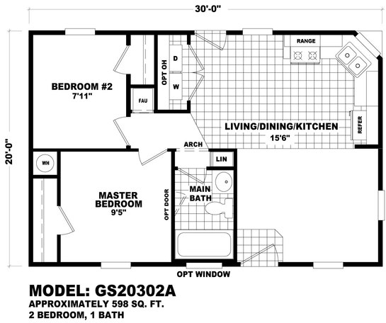 Double Wide Trailer Floor Plans 32 X 80 on single wide mobile home floor plans