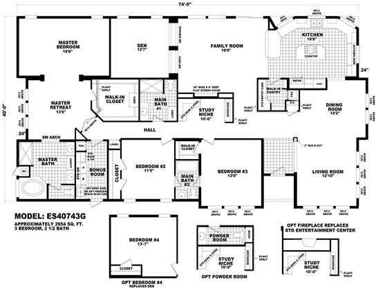 Floor Plan ES-40743G | Estate Series | Homes By Cavco West ... on manufactured homes in texas, manufactured mobile homes 2014, manufactured homes inside, manufactured home community, manufactured modular homes, manufactured home steps plans, manufactured homes interior, manufactured home kitchen plans, manufactured home layouts, manufactured home plans and prices, manufactured home loan, manufactured homes decorating, manufactured home lighting, manufactured home with attached garage, manufactured home site plan, manufactured housing, manufactured home garage plans, manufactured homes built in 1978, triple wide manufactured home plans, manufactured home remodeling,