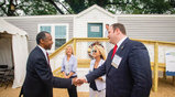 HUD Secretary Ben Carson Tours Home by Cavco Industries & UMH Properties