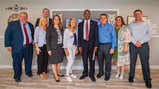 HUD Secretary Ben Carson & Acting Deputy Secretary, Assistant Secretary for Housing, and Federal Housing Commissioner Brian Montgomery with Cavco Industries & UMH Properties Team Members, as well as MHI Staff